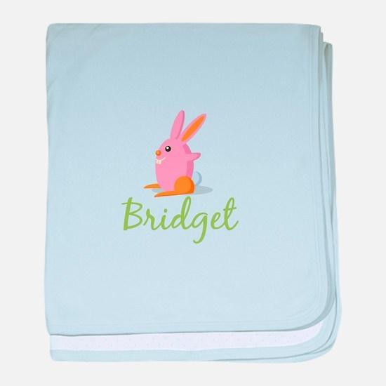 Easter Bunny Bridget baby blanket