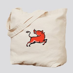 Wild Pig Razorback Hog Tote Bag