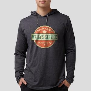 Wally's Service - Goober Pyle Mens Hooded Shirt