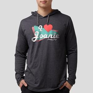 I Heart Joanie Mens Hooded Shirt