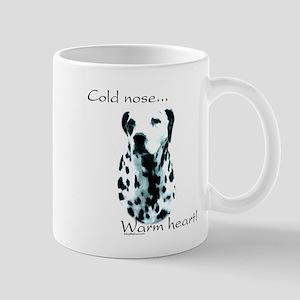 Dalmatian Warm Heart Mug