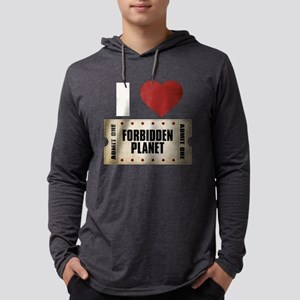 I Heart Forbidden Planet Tick Mens Hooded Shirt