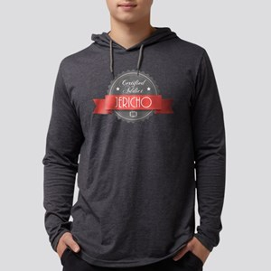 Certified Jericho Addict Mens Hooded Shirt