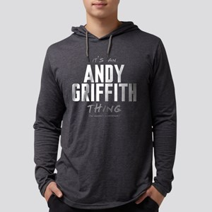 It's an Andy Griffith Thing Mens Hooded Shirt
