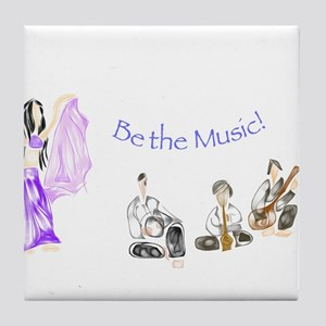 Be the Music Tile Coaster