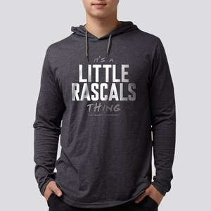 It's a Little Rascals Thing Mens Hooded Shirt