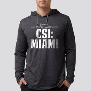 Shhh... I'm Binge Watching CS Mens Hooded Shirt