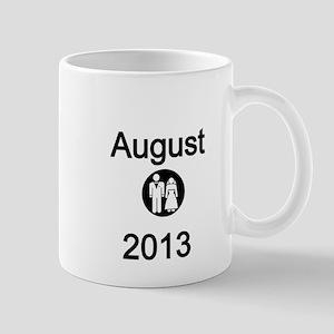 August 2013-Bride and Groom Mug