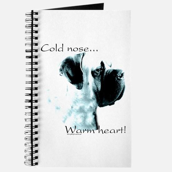 Mastiff Warm Heart Journal