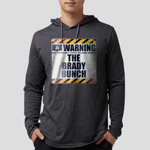 Warning: The Brady Bunch Mens Hooded Shirt