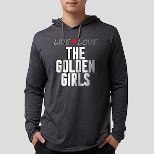 Live Love The Golden Girls Mens Hooded Shirt
