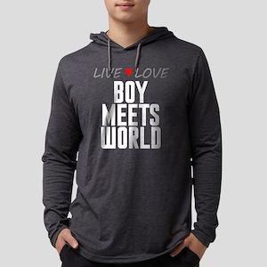 Live Love Boy Meets World Mens Hooded Shirt