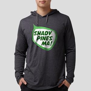Shady Pines Ma! Mens Hooded Shirt