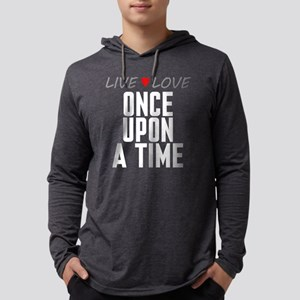 Live Love Once Upon a Time Mens Hooded Shirt