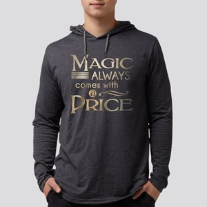 Magic Comes with a Price Mens Hooded Shirt