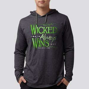 Wicked Always WIns Mens Hooded Shirt