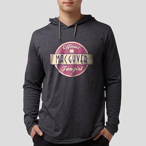 Official MacGyver Fangirl Mens Hooded Shirt