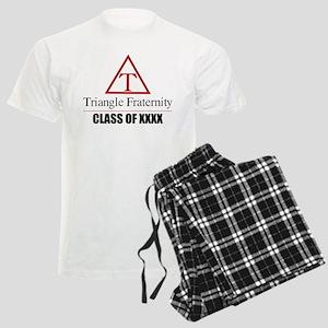 Triangle Fraternity Class Of Men's Light Pajamas