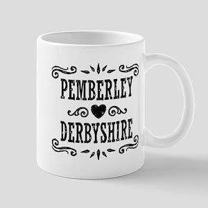 Pemberley Derbyshire 11 oz Ceramic Mug