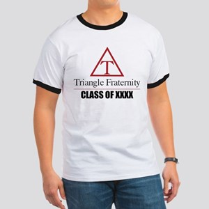 Triangle Fraternity Class Of Personalized Ringer T