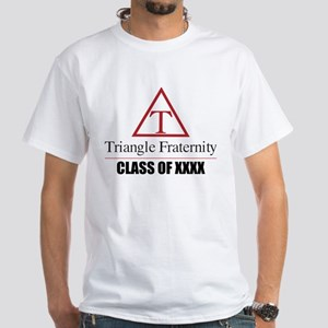 Triangle Fraternity Class Of Persona White T-Shirt