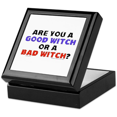 Good Witch or Bad Witch? Keepsake Box