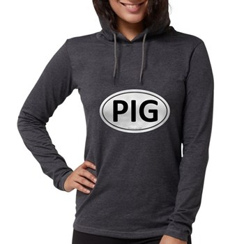 PIG Euro Oval Womens Hooded Shirt