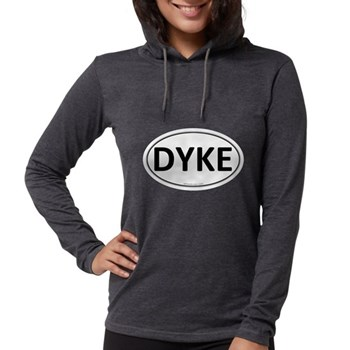 DYKE Euro Oval Womens Hooded Shirt