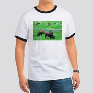 South Dakota Bison Ringer T