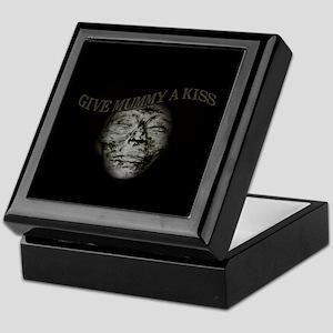 Mummy Kiss Dark Humor Keepsake Box