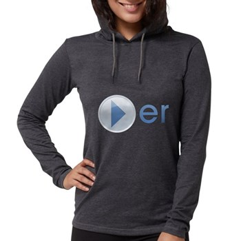 Player Womens Hooded Shirt