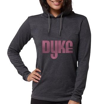 Pink Dyke Womens Hooded Shirt