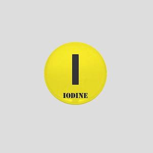 Iodine Element Mini Button (10 pack)