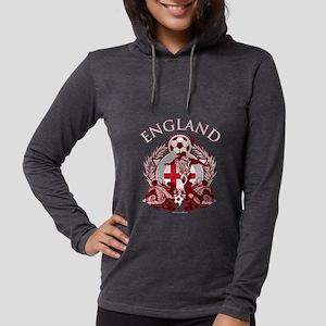 England Soccer Womens Hooded Shirt