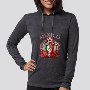 Mexico Soccer Womens Hooded Shirt
