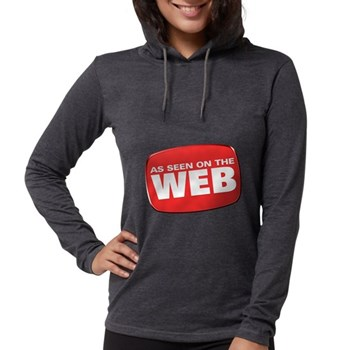 As Seen on the Web Womens Hooded Shirt