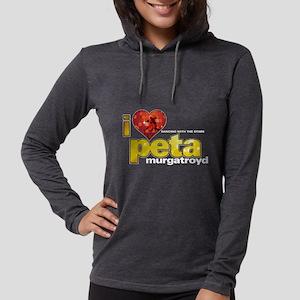 I Heart Peta Murgatroyd Womens Hooded Shirt