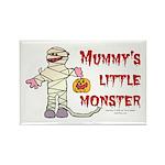 Mummy's Little Monster (boy) Rectangle Magnet (100
