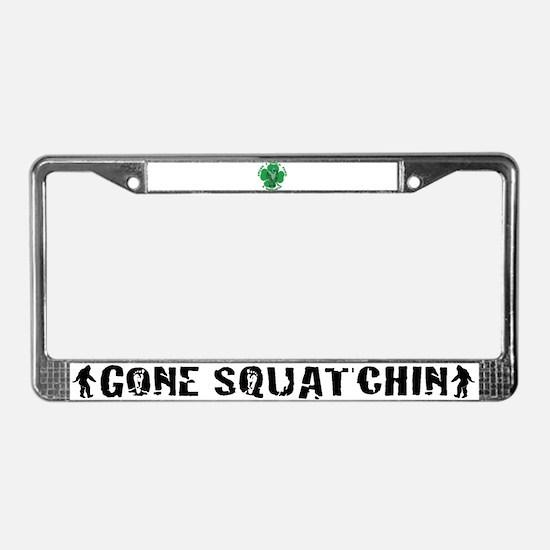 Irish Bigfoot License Plate Frame