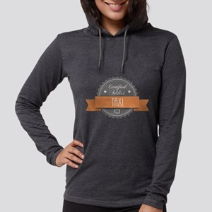 Certified Addict: Taxi Womens Hooded Shirt