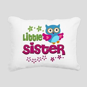 Little Sister Rectangular Canvas Pillow