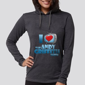 I Heart the Andy Griffith Sho Womens Hooded Shirt