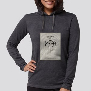 Living Doll Minimal Poster Womens Hooded Shirt