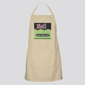Not! Wasabi Soda Apron