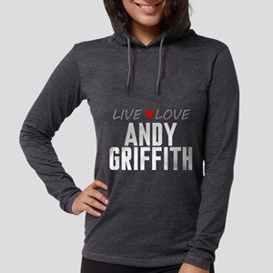 Live Love Andy Griffith Womens Hooded Shirt