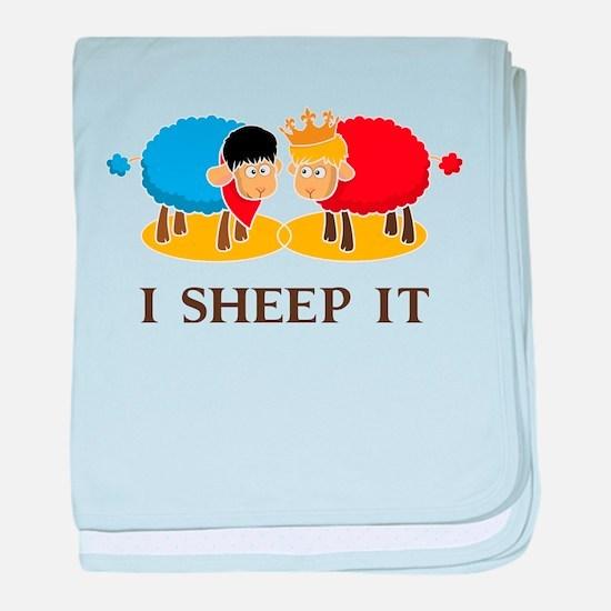I Sheep It baby blanket