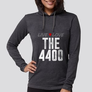 Live Love The 4400 Womens Hooded Shirt
