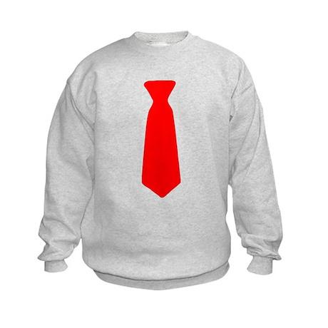 Red Neck Tie Sweatshirt