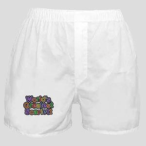 Worlds Greatest Scarlett Boxer Shorts