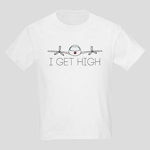 'I Get High' Kids Light T-Shirt